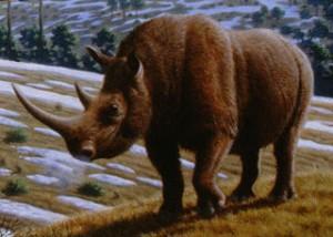 Доисторический носорог